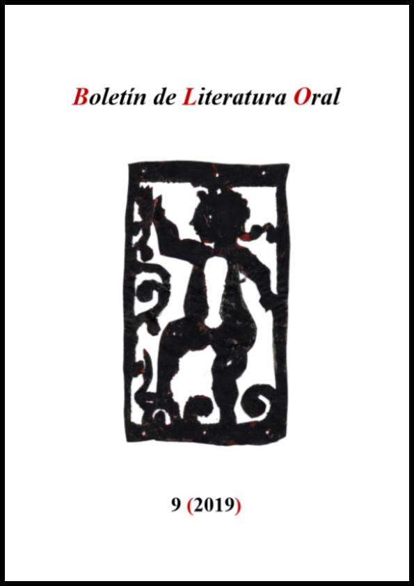 Boletín de Literatura Oral, 9 (2019)