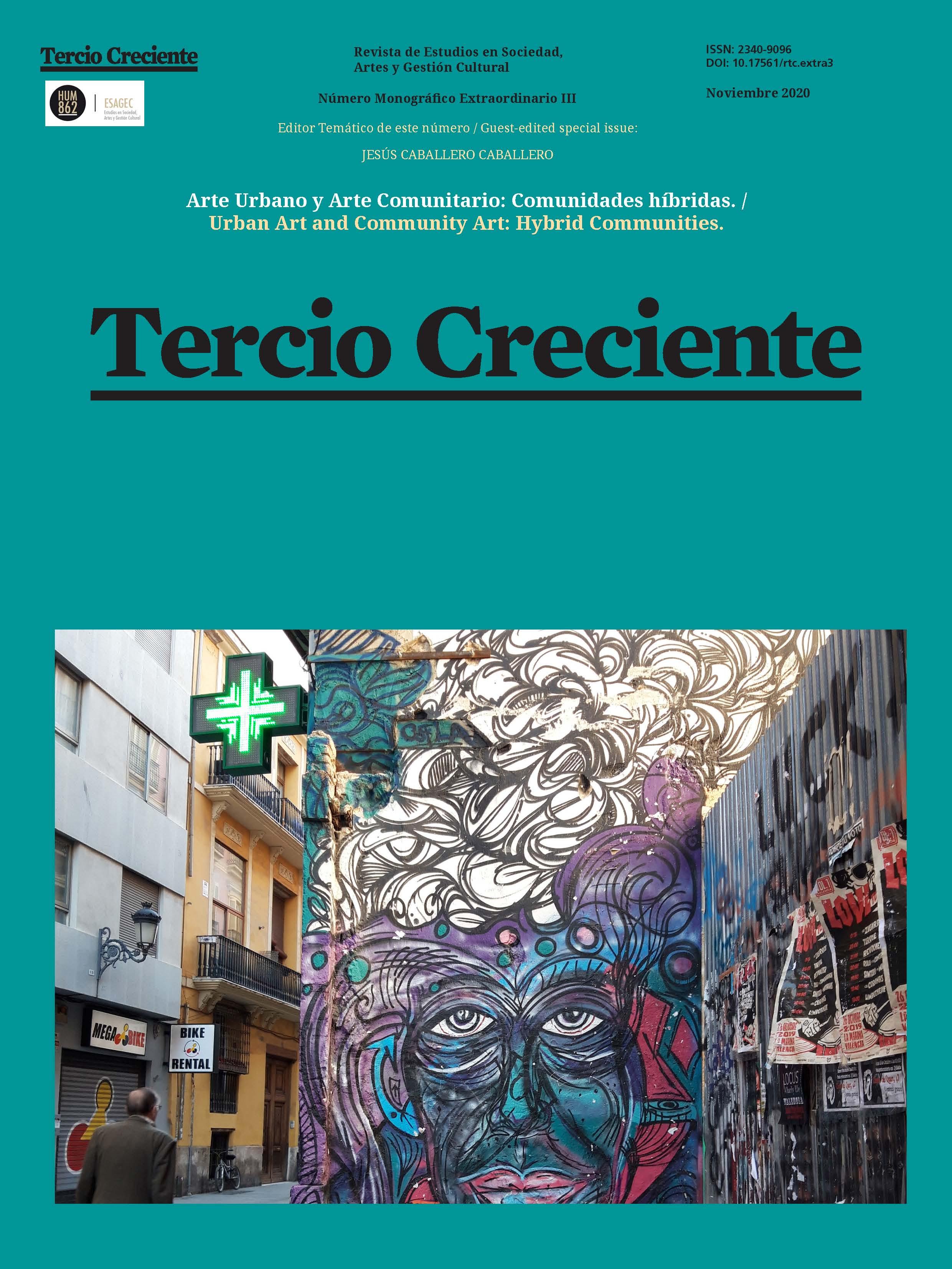 Ver Monográfico Extraordinario III (2020): Arte Urbano y Arte Comunitario: Comunidades híbridas.