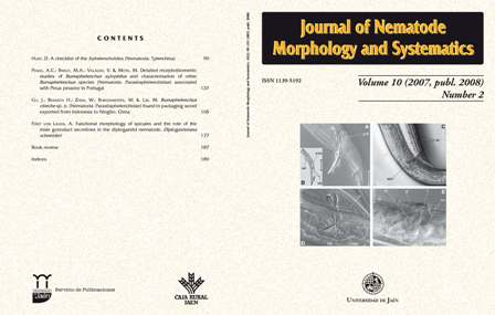 Journal of Nematode Morphology and Systematics